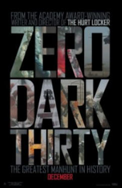 zero dark thirty movie poster